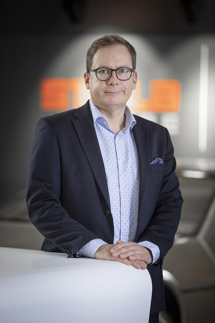 Stalatube CEO Sami Packalen